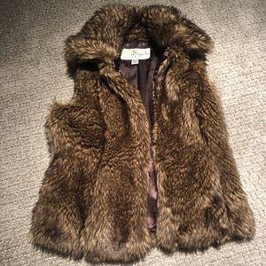 Baguda Faux Fur Vest from Nordstoms — flawless